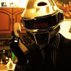 I am getting this for my husband for Father's Day! Daft Punk Thomas Helmet Complete Outfit
