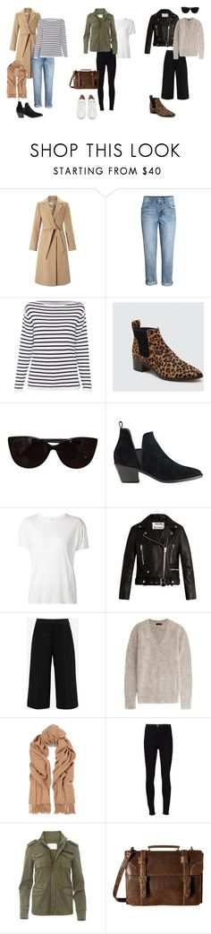 """""""Autumn outfit ideas."""" by uselessdk on Polyvore featuring Miss Selfridge, H&M, Dolce Vita, Tiffany & Co., Sigerson Morrison, R13, Acne Studios, Ted Baker, Joseph and Frame"""