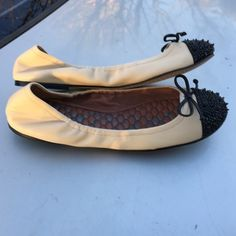 SAM EDELMAN $130 NEW BALLET FLATS LEATHER 10 M NEW FROM NORDSTROMS SAM EDELMAN LEATHER BALLET FLATS SIZE 10 M SAM EDELMAN Shoes Flats & Loafers
