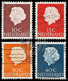 Dutch postage stamps