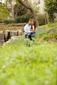 Romantic Spring Engagement  Photo By POPography