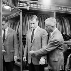 ivy league tailoring 1950s