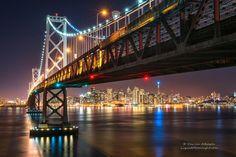 San Francisco Skyline & The Bay Bridge by Darvin Atkeson on 500px