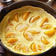 pancake baked in cast iron skillet tastycookery austrian pancake ...