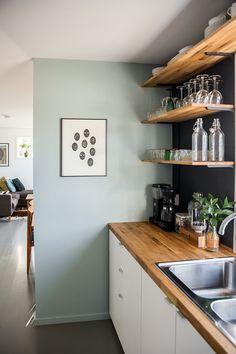 ART + FOLK presents: Home and Studio Visits — ART+FOLK Kitchen Interior, New Kitchen, Kitchen Dining, Kitchen Decor, Home Kitchens, Kitchen Remodel, Living Spaces, Sweet Home, New Homes