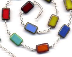 Sterling Necklace Sterling Silver Necklace with  by Annaart72
