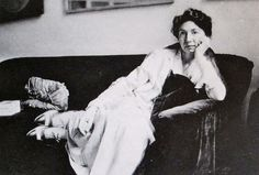 Louise Arensberg, 1917/18 photo by Beatrice Wood. Louise was a musician and art collector.