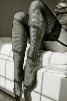 Black and White Photography - Boudoir -Legs