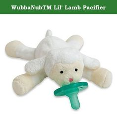 WubbaNubTM Lil' Lamb Pacifier. Part plush toy, part pacifier, the amazing WubbaNub makes a perfect companion for your little one. A soft, cozy, and adorable pal, its patented design keeps your baby's pacifier close by and prevents it from getting lost, dropped, or misplaced.