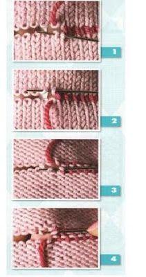 Como unir piezas de tejidos en crochet y dos agujas ~ cositasconmesh Knitting Stitches, Baby Knitting, Embroidery Stitches, Knitting Patterns, Crochet Patterns, Knit Crochet, Couture, Quilts, Sewing