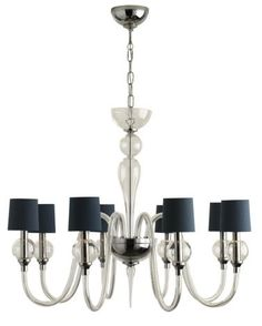 Leonardo Ball Chandelier Can order diff color shades