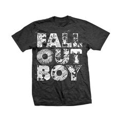 Fall Out Boy T-Shirt ❤ liked on Polyvore