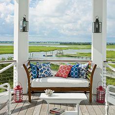 Sullivan's Island, South Carolina Beach House Porch