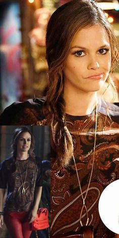 #RachelBilson / Zoe Hart in a House Of Harlow 1960 necklace http://rstyle.me/~a3xk for $100 at Zappos.com #hartofdixie