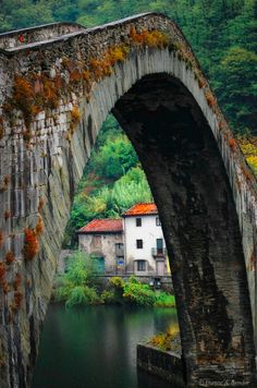 """Bridge of the Devil"" by Duane Bender"