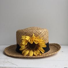 I got this hat for my (13?)th birthday, along with some other hats and sunflower potpourri. I wore this hat till it wasn't a hat anymore. But that's only part of the story...