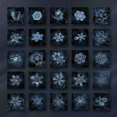 These amazingly beautiful close-up photos of snowflakes were taken by Russian photographer Alexey Kljatov using a homemade camera setup instead of a microscope.