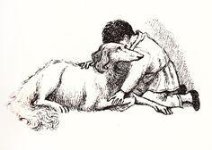 "gerda-kay: ""Maurice Sendak Illustration for Lev Tolstoy's Nikolenka's Childhood "" Maurice Sendak, Best Children Books, Childrens Books, Children's Book Writers, Popular Art, Ink Illustrations, Book Projects, Children's Literature, Children's Book Illustration"