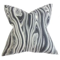 Zola Reversible Pillow in Ink