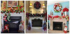 10 Adornos navideños elegantes que puedes poner en casa ~ Belleza y Peinados Ladder Decor, Navidad Diy, Home Decor, Home, Cardboard Fireplace, Christmas Cupcakes, Christmas Decor, Christmas Greenery, Decoration Home