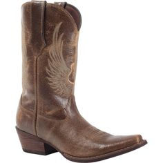 "Durango Men's Western Boot Flying Guitar ""Gambler"" Brown These classic design by Durango men's Western boots in brown have it all… comfort, style, durability and a fun guitar design. Check em' out today! Durango Boots, Western Boots For Men, Wing Boots, Brown Boots, Cowboy Boots, Westerns, Brown Leather, Footwear, Mens Fashion"
