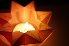 Make your own Christmas Star Lantern. DIY Tutorial by Waldorf (Inspired) Moms