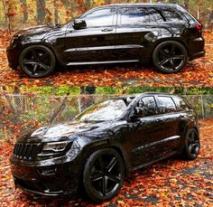 Black Jeep Grand Cherokee