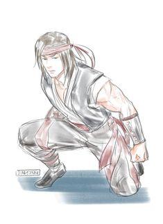 Liu kang style of Naruto Liu Kang And Kitana, Mortal Kombat 3, Kratos God Of War, Signo Libra, Future City, Scorpion, Naruto, Video Games, Sketches
