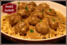 Sweet Tea and Cornbread: Swedish Meatballs!