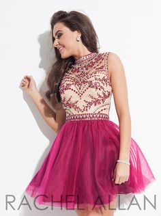 Rachel Allan 4063 Homecoming Dress 2015