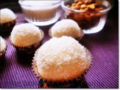 petites boules sans cuisson chocolat blanc noix de coco style rafaelo