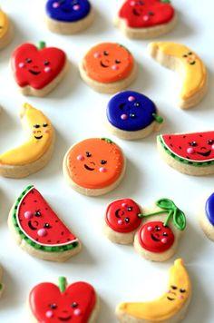 Tiny cookie cuteness.