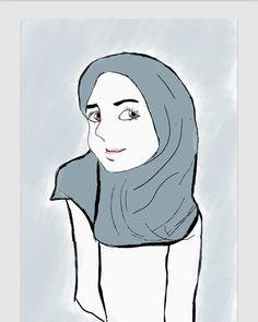 Menggambar Sketsa Wajah Anne Hateway Menggambar Sketsa Wajah