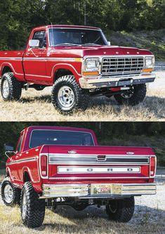 1979 Ford Truck, Old Ford Trucks, Diesel Trucks, Car Ford, Chevrolet Trucks, Custom Pickup Trucks, Old Pickup Trucks, Jeep Pickup, Cool Trucks