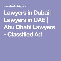 Our firm has the best of Top lawyers of Dubai, Abu Dhabi, UAE & Cairo Egypt. Here you can hire top & best legal consultants &. Good Lawyers, Cairo Egypt, Abu Dhabi, Uae