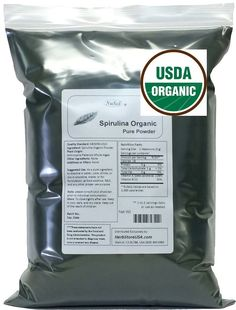 Amazon.com: NuSci Organic Spirulina Powder 1000g (1.0Kg, 2.2 lb) Bulk Pure Fresh GMO Free Non-Irradiated: Health & Personal Care