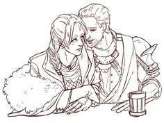 Cute! Cullen x Inquisitor