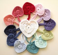PERFECT CROCHET HEART PATTERN | MICROCKNIT CREATIONS