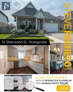 Oakville Real Estate Team - Homes for sale in Oakville, Burlington, GTA and surrounding areas. Pan Photo, Stainless Steel Appliances, Wall Oven, Curb Appeal, Microwave, Hardwood, Floor Plans, Real Estate, Album