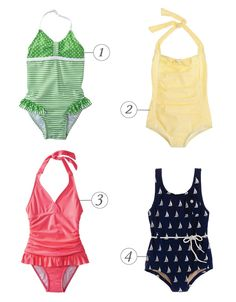 [dandee]: Modest Swimsuits For Girls. I really like number 4