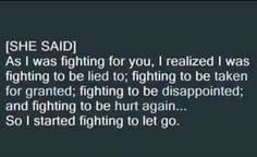 Fighting Trust Issues, Fight For You, Taken For Granted, Relationship Issues, Disappointment, Letting Go, It Hurts, Therapy, Wisdom