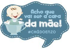 Placa para Chá de Bebê - Blog da Manu