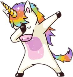 #freetoedit#Unicorn #Unicornio #Magico #Bonito #Kawaii #Dab #DabUnicornio #remixit