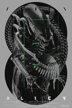 brothertedd:ALIEN   Poster by Krzysztof Domaradzki - StudioKxx