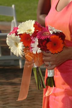 I WILL  HAVE GERBER DAISIES AT MY WEDDING.