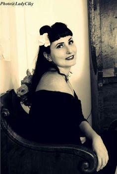 Alessandra, photo Stefania Rigo #pinup