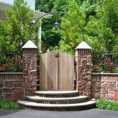 Portillon de jardin : 50 idées pour votre extérieur | Portillon ...