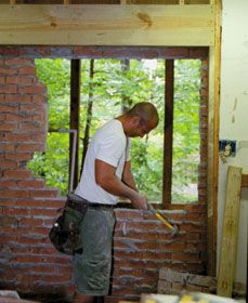 How To Install Patio Doors In A Brick Wall In 2019