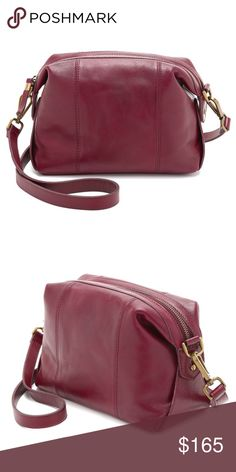 """❤️ Madewell Mini Glasgow Crossbody Dark Cabernet A cute crossbody, big enough to fit the essentials, but small enough to be easy to carry all day. Excellent condition. The leather shows some wear and marks, beautifully broken in. Leather is a natural material and has natural variations like range marks and grain patterns.  Approximately 7""""h x 9.5"""" w x 3.5"""" d Adjustable 21"""" strap drop  ❌ Sorry, no trades.   saddle bucket mini crossbody  fairlygirly Madewell Bags Crossbody Bags"""