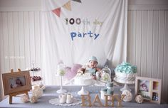 100th day baby party